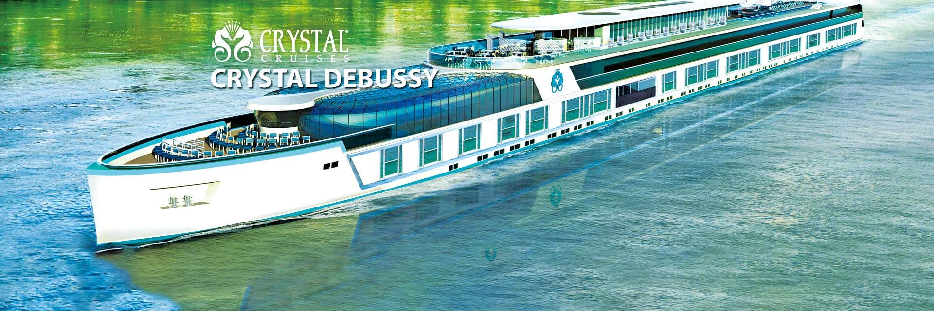 水晶河輪德布西號Crystal Debussy