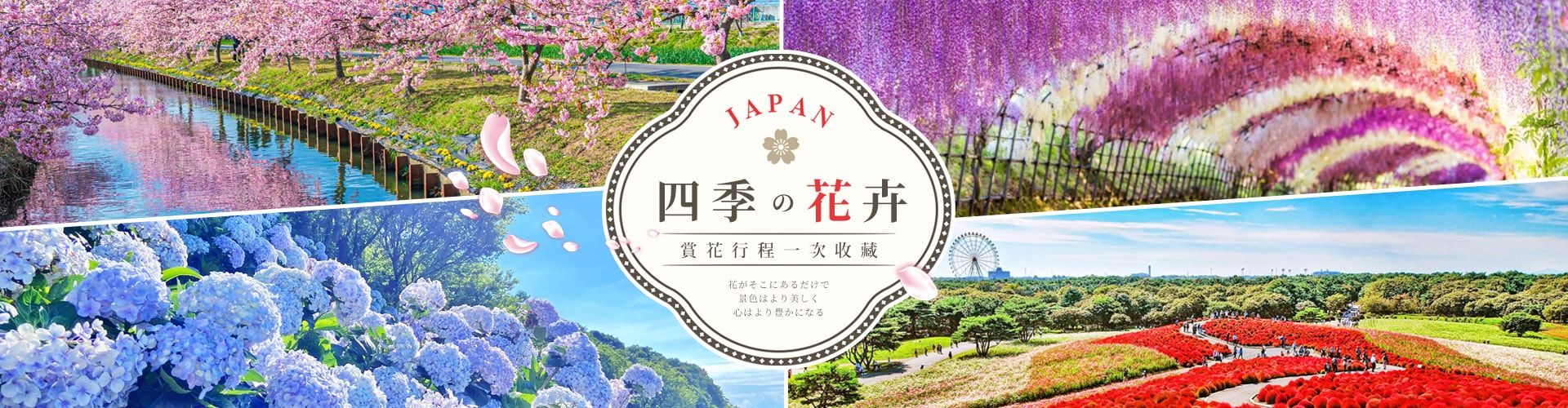 日本賞花之旅